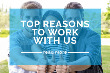 Top Reasons To Work With Us